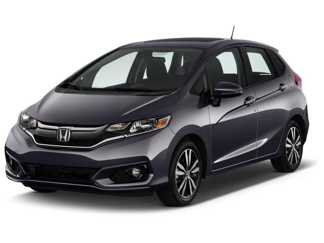 2020 Honda Fit EX CVT Angular Front Exterior View