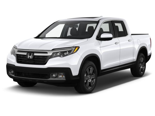 2020 Honda Ridgeline RTL-E AWD Angular Front Exterior View