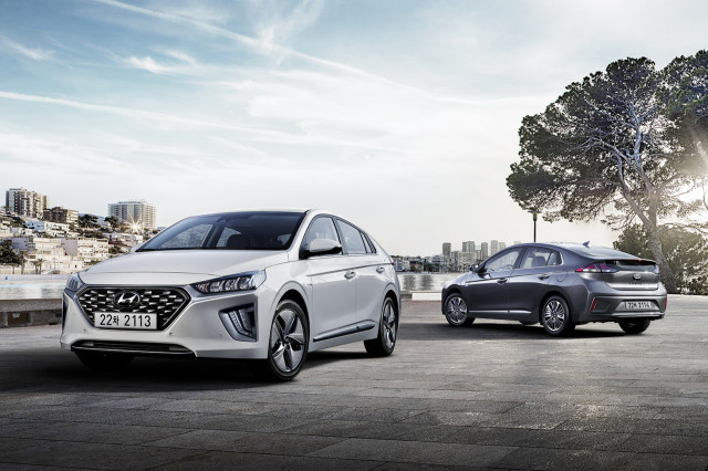 2020 Hyundai Ioniq [2020 Euro-spec model]
