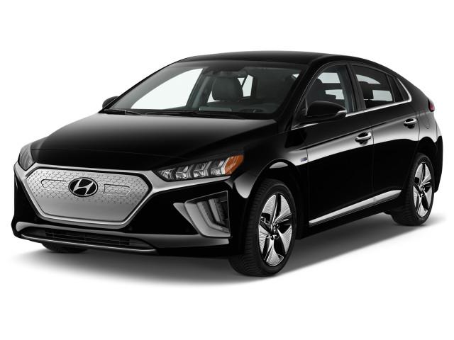 2020 Hyundai Ioniq Limited Hatchback Angular Front Exterior View