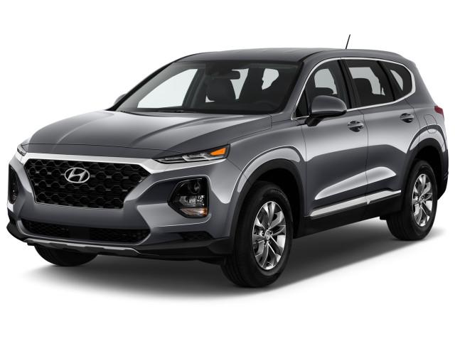 2020 Hyundai Santa Fe SE 2.4L Auto FWD Angular Front Exterior View