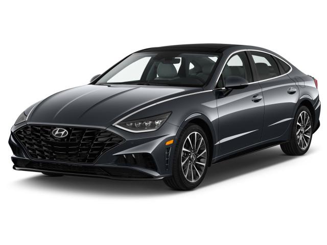 2020 Hyundai Sonata Limited 1.6T Angular Front Exterior View