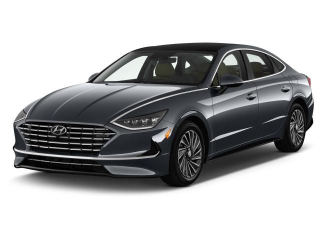 2020 Hyundai Sonata Limited 2.0L Angular Front Exterior View