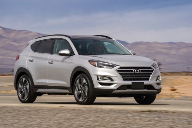Hyundai Tucson crossover SUV recalled for engine fire risk