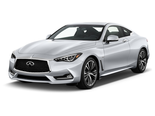 2020 INFINITI Q60 3.0t LUXE RWD Angular Front Exterior View