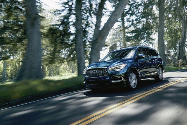 Infiniti QX60 earns Top Safety Pick award