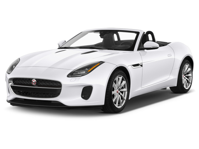 2020 Jaguar F-Type Convertible Auto Checkered Flag Angular Front Exterior View