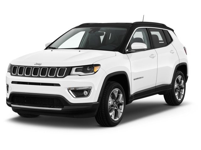 2020 Jeep Compass Limited FWD Angular Front Exterior View