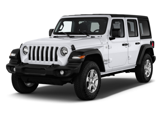 2020 Jeep Wrangler Sport S 4x4 Angular Front Exterior View