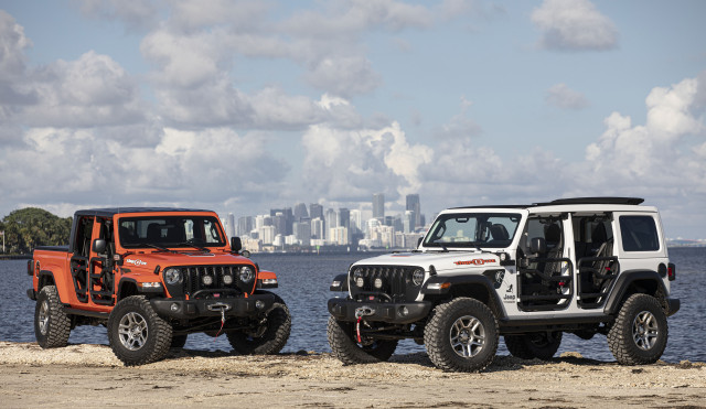 2020 Jeep Wrangler and Jeep Gladiator Three O Five Editions
