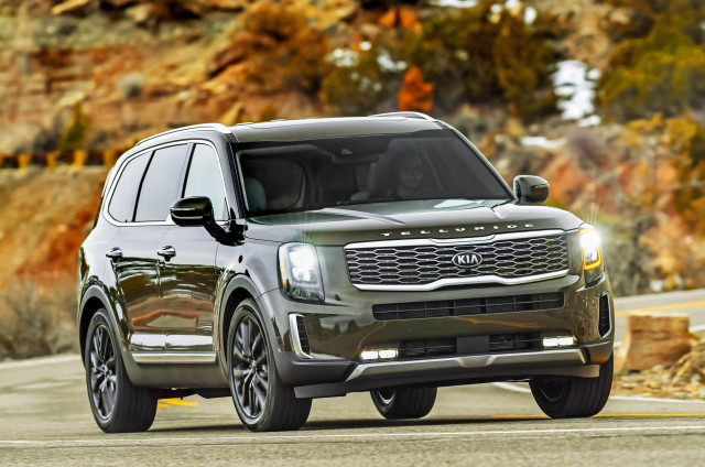 2020 Kia Telluride is a Top Safety Pick, but only with certain headlights