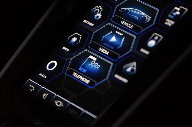 Amazon Alexa integration in 2020 Lamborghini Huracán EVO