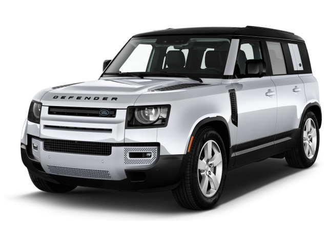 2020 Land Rover Defender 110 First Edition AWD Angular Front Exterior View