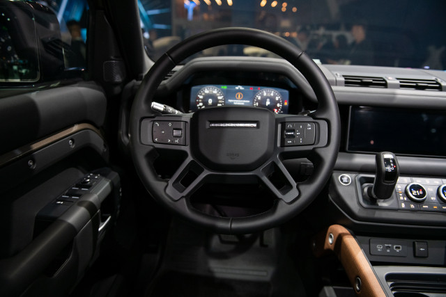 2020 Land Rover Defender, 2019 LA Auto Show