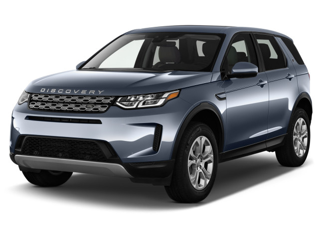 2020 Land Rover Discovery Sport HSE R-Dynamic 4WD Angular Front Exterior View
