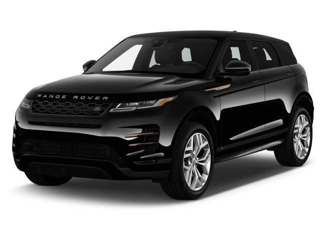 2020 Land Rover Range Rover Evoque P250 First Edition Angular Front Exterior View