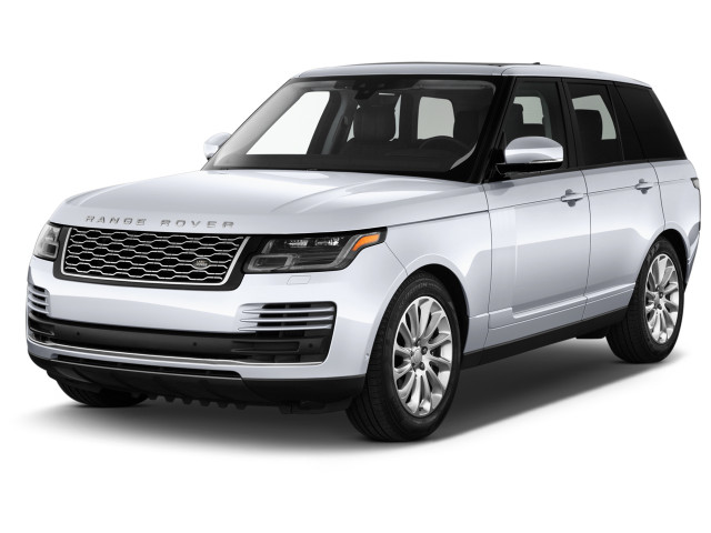 2020 Land Rover Range Rover HSE SWB Angular Front Exterior View