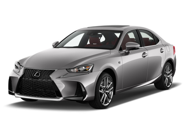 2020 Lexus IS IS 350 F SPORT RWD Angular Front Exterior View