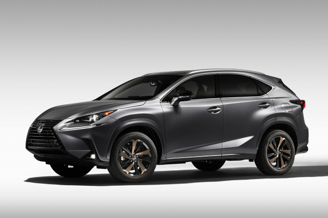 2020 Lexus NX 300 crossover Black Line edition gets a new look