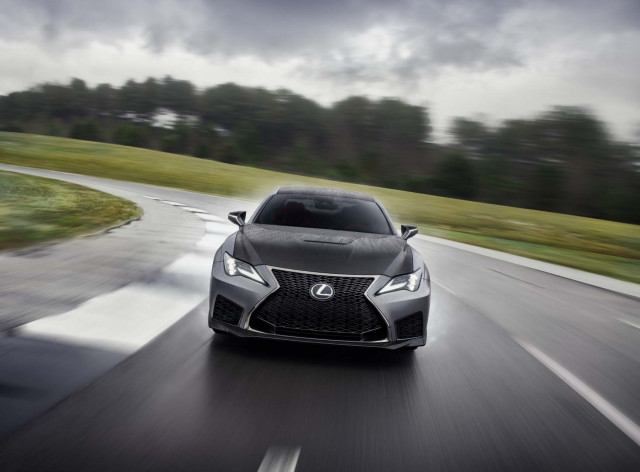 Lexus RC F unveiled in Detroit with track-ready flagship