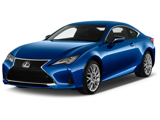 2020 Lexus RC RC 350 RWD Angular Front Exterior View