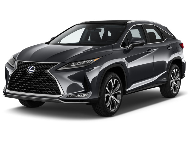 2020 Lexus RX RX 450h AWD Angular Front Exterior View