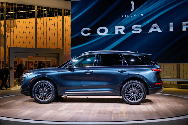 2020 Lincoln Corsair, 2019 New York International Auto Show
