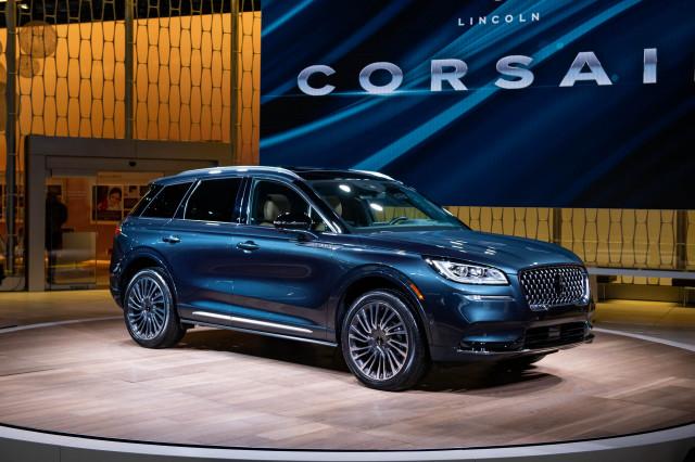 2020 Lincoln Corsair, 2019 New York International Auto Show
