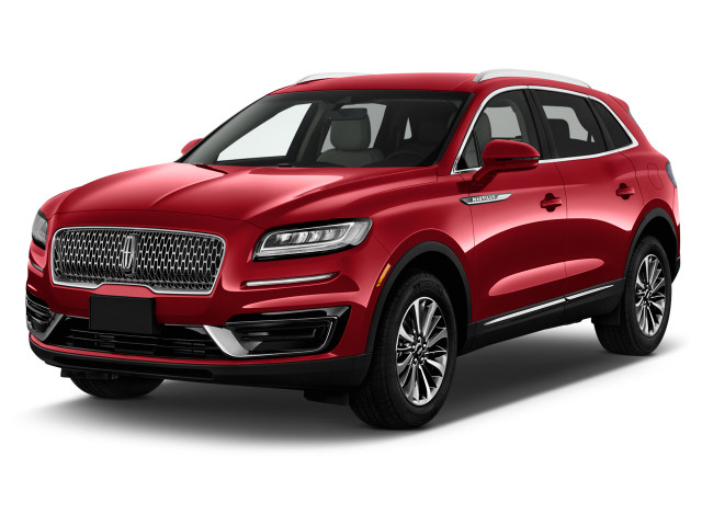 2020 Lincoln Nautilus Standard FWD Angular Front Exterior View