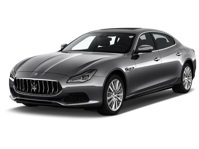 2020 Maserati Quattroporte S 3.0L Angular Front Exterior View