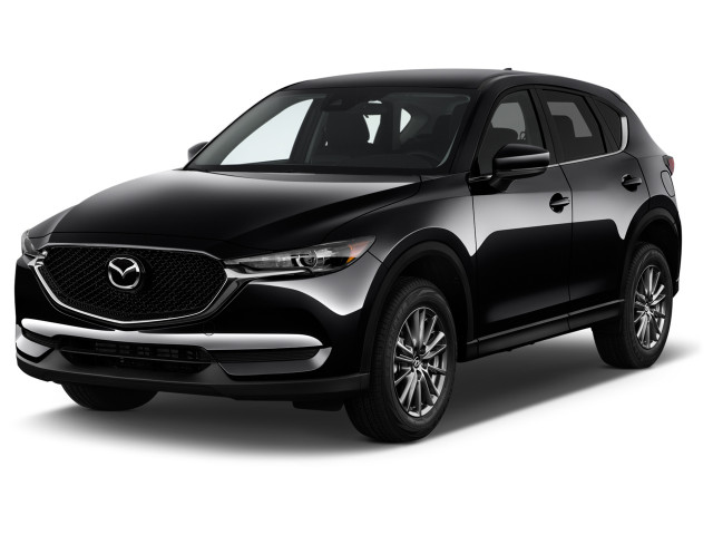 2020 Mazda CX-5 Sport FWD Angular Front Exterior View