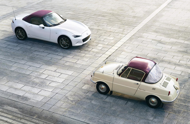 2020 Mazda MX-5 Miata 100th Anniversary Special Edition and R360