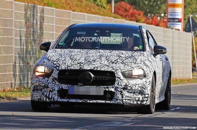 2020 Mercedes-AMG CLA35 spy shots - Image via S. Baldauf/SB-Medien