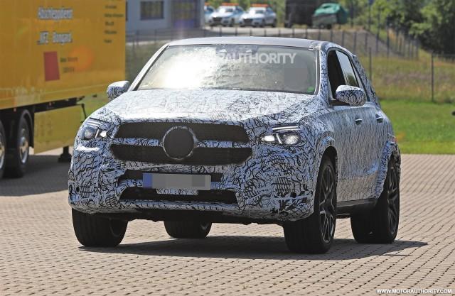 2020 Mercedes-AMG GLE63 spy shots - Image via S. Baldauf/SB-Medien