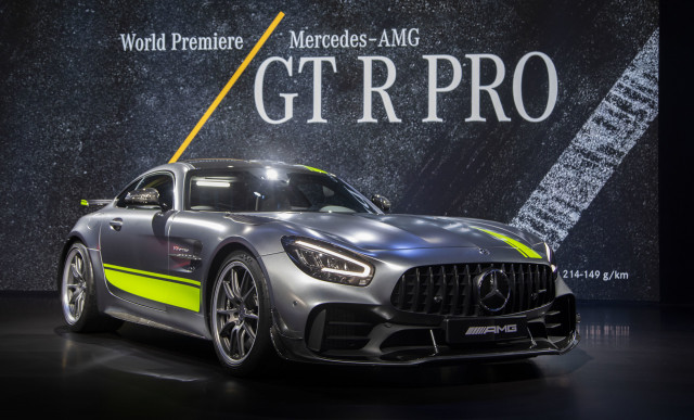 2020 Mercedes-AMG GT R Pro, 2018 LA Auto Show