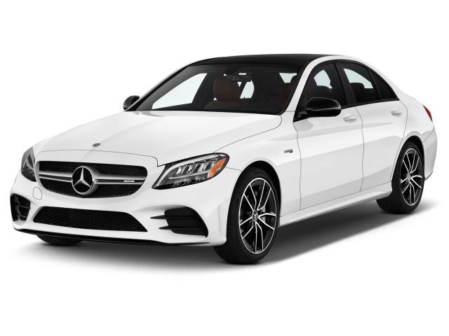 2020 Mercedes-Benz C Class Angular Front Exterior View