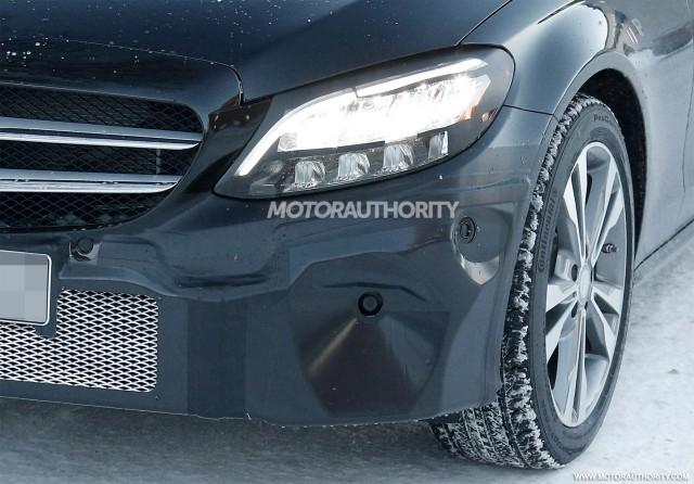2020 mercedes benz c class coupe spy shots rh motorauthority com