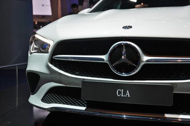 2020 Mercedes-Benz CLA Class, photo by Ronan Glon
