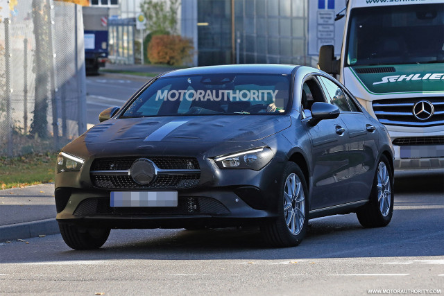 2020 Mercedes Benz Cla Spy Shots And Video