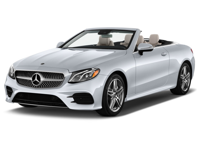 2020 Mercedes-Benz E Class E 450 RWD Cabriolet Angular Front Exterior View
