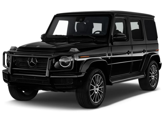 2020 Mercedes-Benz G Class G 550 4MATIC SUV Angular Front Exterior View