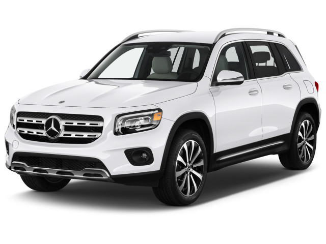 2020 Mercedes-Benz GLB GLB 250 SUV Angular Front Exterior View