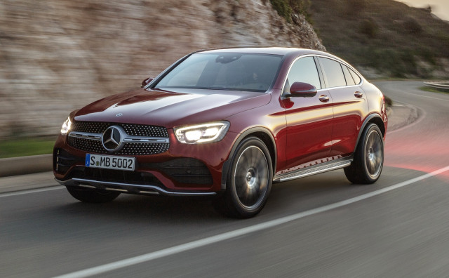 2020 Mercedes-Benz GLC SUV earns a Top Safety Pick award
