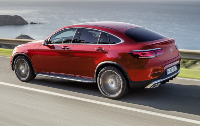 2020 Mercedes-Benz GLC-Class Coupe debuts with more power, tech, and updated looks