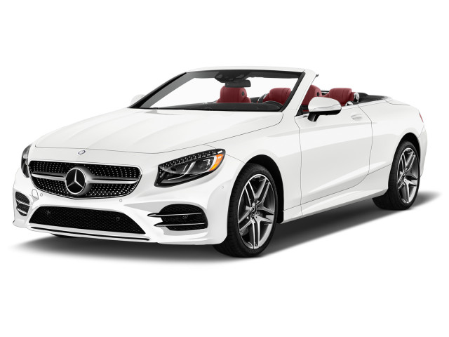 2020 Mercedes-Benz S Class S 560 Cabriolet Angular Front Exterior View