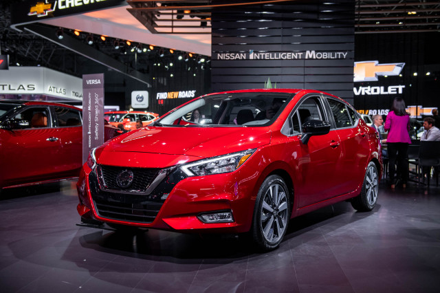 2020 Nissan Versa, 2019 New York International Auto Show