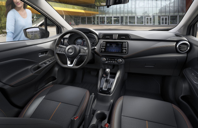 The 2020 Nissan Versa tests the limits of content in a ...