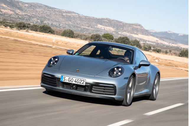 2020 Porsche 911 Carrera S, Valencia, Spain, January 2019