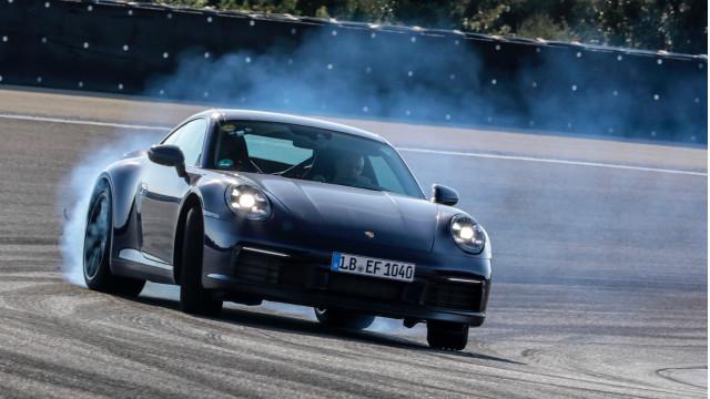 2020 Porsche 911 development drives