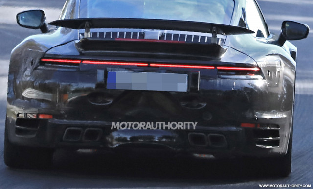 2020 Porsche 911 Turbo Spy Shots And Video
